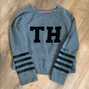 Tommy Hilfiger sport cropped sweater